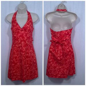 La Belle dress Size 3 Aloha Hawaiian Halter Luau